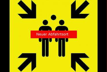++ACHTUNG++                     Neuer Abfahrtsort 2019